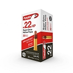 Aguila SuperExtra High Velocity .22 Long Rifle 40gr Copper Plated Hollow Point