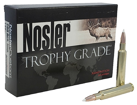 Nosler Trophy Grade 280 Remington 140 Grain AccuBond