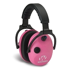 GSM Outdoors Walker's Electronic Alpha Carbon Muff SSL (Pink Graphite)
