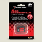 GSM Outdoors Stealth Cam SDHC Single Memory Card (4 or 8 GB)