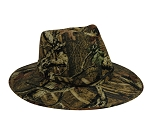 Outdoor Cap Company Outback Hat with Leather Chin Strap (Mossy Oak Break-Up Infinity)