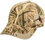 Outdoor Cap Company Wildlife Series (Shadow Grass Blades-Duck)