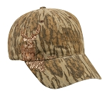 Outdoor Cap Company Mossy Oak Bottomland Embroidered Deer on Side