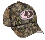 Outdoor Cap Company Mossy Oak Ladies Frayed Camo Cap (Break-Up Country)