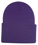 Outdoor Cap Company Watch Cap W/Cuff Beanie (Purple)