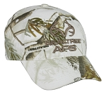 Outdoor Cap Company Realtree APS Camo Cap (Snow)