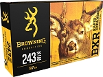 Browning BXR Rapid Expansion 243 Win 97gr Matrix Tip