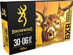 Browning BXR Rapid Expansion 30-06 Spring 155gr Matrix Tip