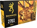 Browning BXC Controlled Expansion 270 Win 145gr Terminal Tip