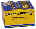 Buffalo Bore Heavy 480 Ruger 370gr Hard Cast LBT-LFN