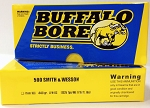 Buffalo Bore 500 S&W 440gr Hard Cast LFN-Gas Checked (1,325 fps)