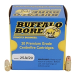 Buffalo Bore Heavy 357 Sig. Low Flash 125gr JHP