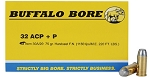 Buffalo Bore 32 ACP+P 75gr Hard Cast FN