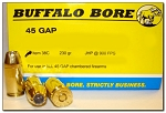 Buffalo Bore 45 GAP 230gr JHP