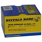 Buffalo Bore Deer Grenade .44 Magnum +P 240gr Soft Cast-GC