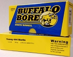 Buffalo Bore Heavy 444 Marlin 335gr Hard Cast LFN-GC