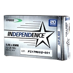 Federal Independence 5.56mm 62gr FMJ