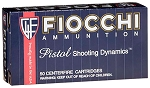 Fiocchi Shooting Dynamics 40 S&W 180gr FMJ Truncated Cone