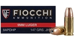 Fiocchi Shooting Dynamics 9mm Luger 147gr JHP