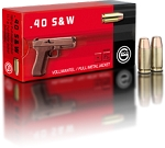 Geco 40 S&W 180gr FMJ 50 Rnds