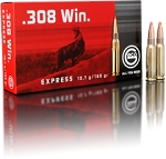 Geco Express .308 Win. 165gr BT 20 Rnds