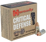 Hornady Critical Defense 32 NAA 80gr FTX