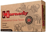 Hornady Dangerous Game 9.3x74 Rimmed 286gr SP