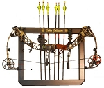 Hunter's Specialties Cabin Collection Bow Rack (Delux)