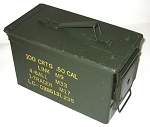 .50 Caliber Military Ammo Can