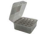 MTM Case-Gard Dual Gauge Flip-Top Polymer Shotshell Box (Clear Smoke)