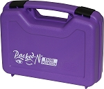 MTM Single Pistol Case (Purple)
