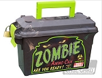MTM Rugged 30 Caliber Narrow Ammo Can (Zombie (Neon Green-Black))