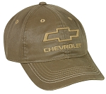 Outdoor Cap Company Chevy Weathered Cotton (Khaki)