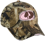 Outdoor Cap Company Mossy Oak Ladies Frayed Camo Cap (Break-Up Infinity)