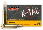 PMC X-TAC 5.56x45mm NATO Green-Tip 62gr FMJ