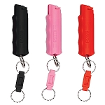SABRE Security Equipment 3-IN-1 Key Case Pepper Spray w/Quick Release Key Ring