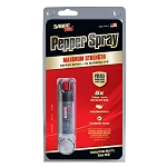 SABRE Security Equipment Pepper Spray with Key Ring (Black)