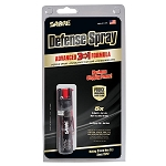 SABRE Security Equipment 3-IN-1 Compact Pepper Spray with Clip (Black)