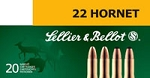Sellier & Bellot 22 Hornet 45gr SP