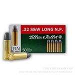 Sellier & Bellot .32 S&W Long N.P. 100gr LRN