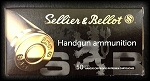 Sellier & Bellot 9mm Makarov 95gr FMJ