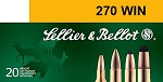 Sellier & Bellot 270 Win. 130gr SP