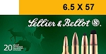 Sellier & Bellot 6.5 x 57 131gr SP