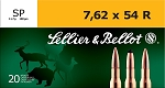 Sellier & Bellot 7.62 x 54 R 180gr SP