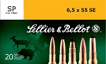 Sellier & Bellot 6.5 x 55 SE 140gr Soft Point