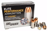 Sig Sauer V-Crown 9mm 124gr JHP 20 Rnds