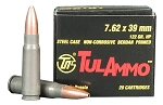 Tula Ammo 7.62x39mm 122gr HP 20 Rnds