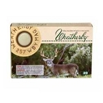 Weatherby .257 WBY Magnum Ultra High Velocity 100gr SP 20 Rnds