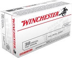 Winchester 38 Special 130gr FMJ