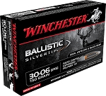 Winchester Ballistic Silvertip 30-06 Sprg 150gr Rapid Controlled Expansion Polymer Tip